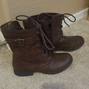 American Rag Brown Combat Boots Size 7 1/2